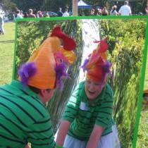 Thomas, 10, West Grove, PA: My Happy Inside Self