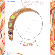 Adeline, 9, Annapolis, MD, Making a Difference in the World
