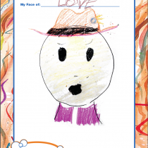 John, 10, Annapolis, MD, My Face of Love
