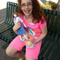 Phoebe, FL: Big smiles with the Jane doll