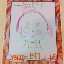 Bella, Orange County, CA, How she pictures herself happy.