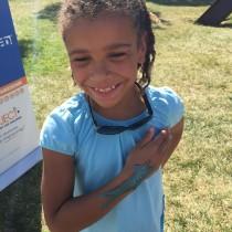 Kids love Awesome sea creatrues! Baltimore Book Festival