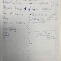 Kristen, 13, Annapolis, MD, Postive Creative Writing