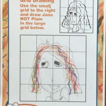 Jack, 9, Rochester, NY, Drawing Jane