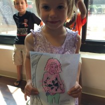 Sally, 6, Annapolis, MD, Coloring Jane