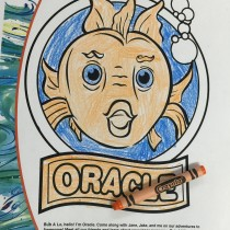Brady, 9, Annapolis, MD, Coloring Oracle